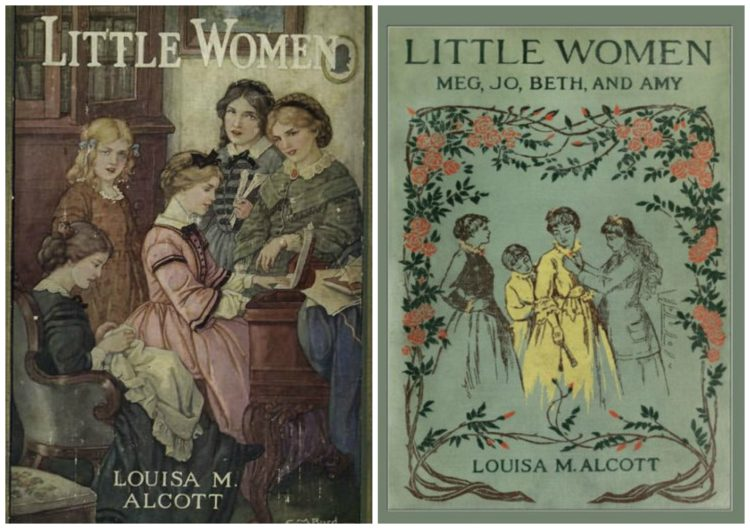 two classic editions of the novel little women