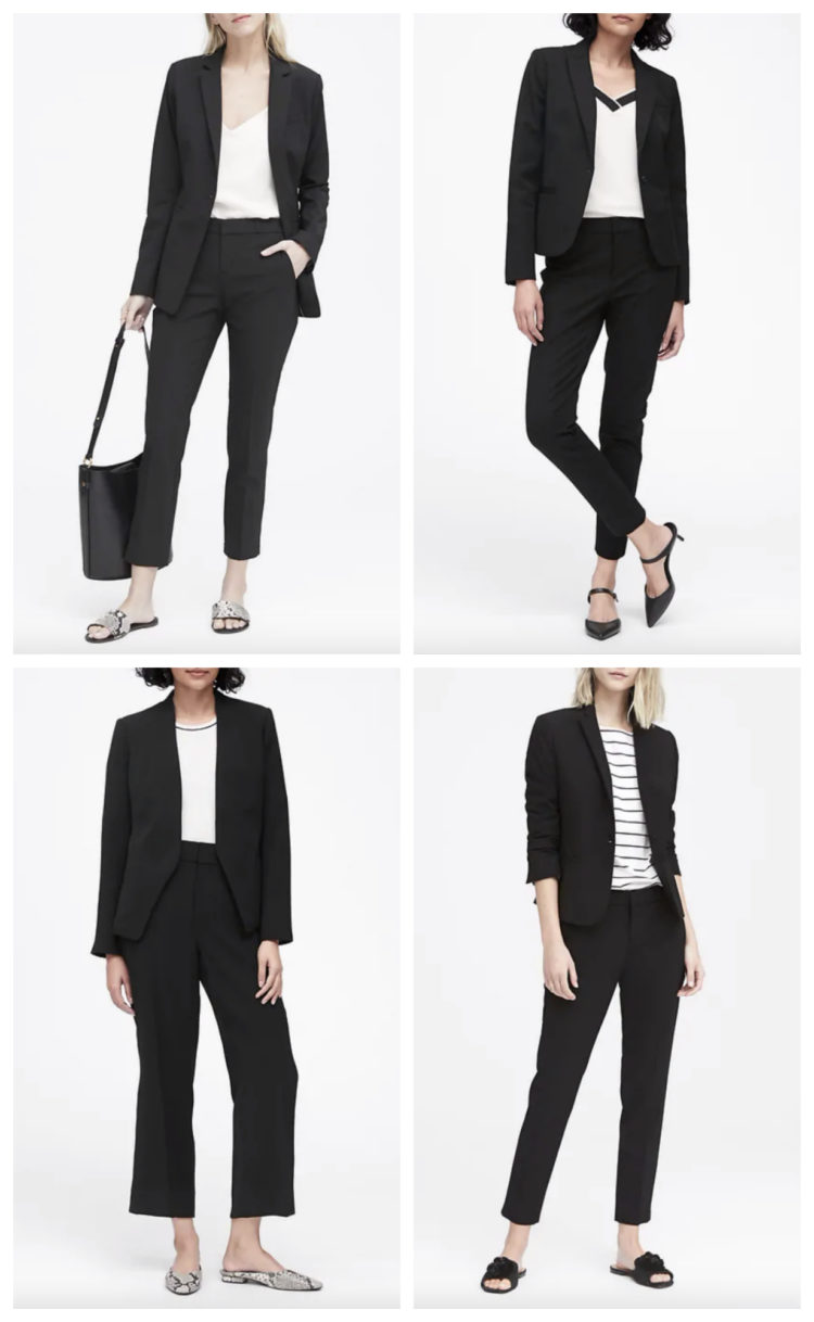 banana republic suiting