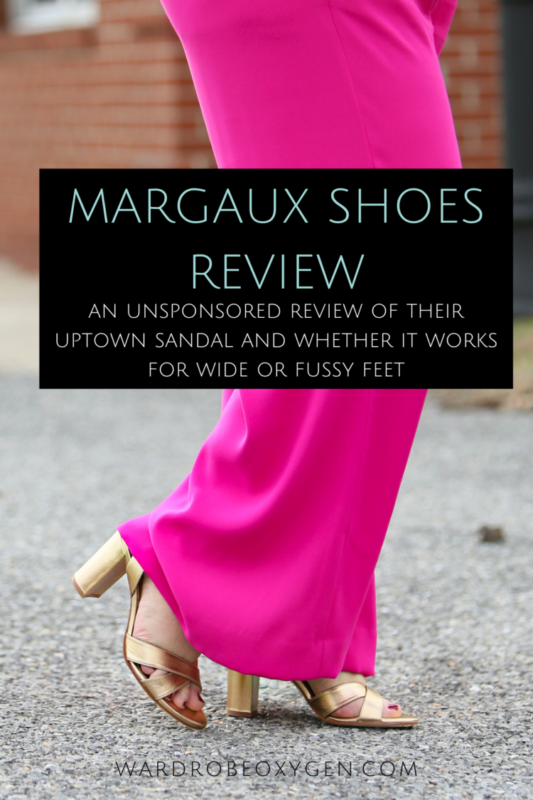 margaux shoes review of the uptown sandal