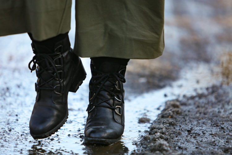 The Sorel Cate waterproof boots on Wardrobe Oxygen