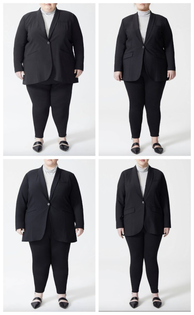 universal standard suiting
