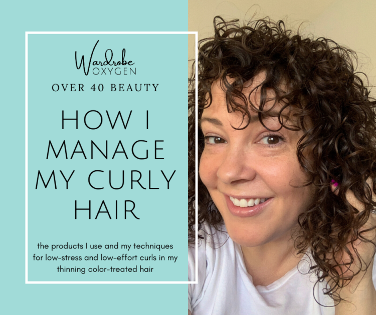 curly hair routine thin over 40 limp