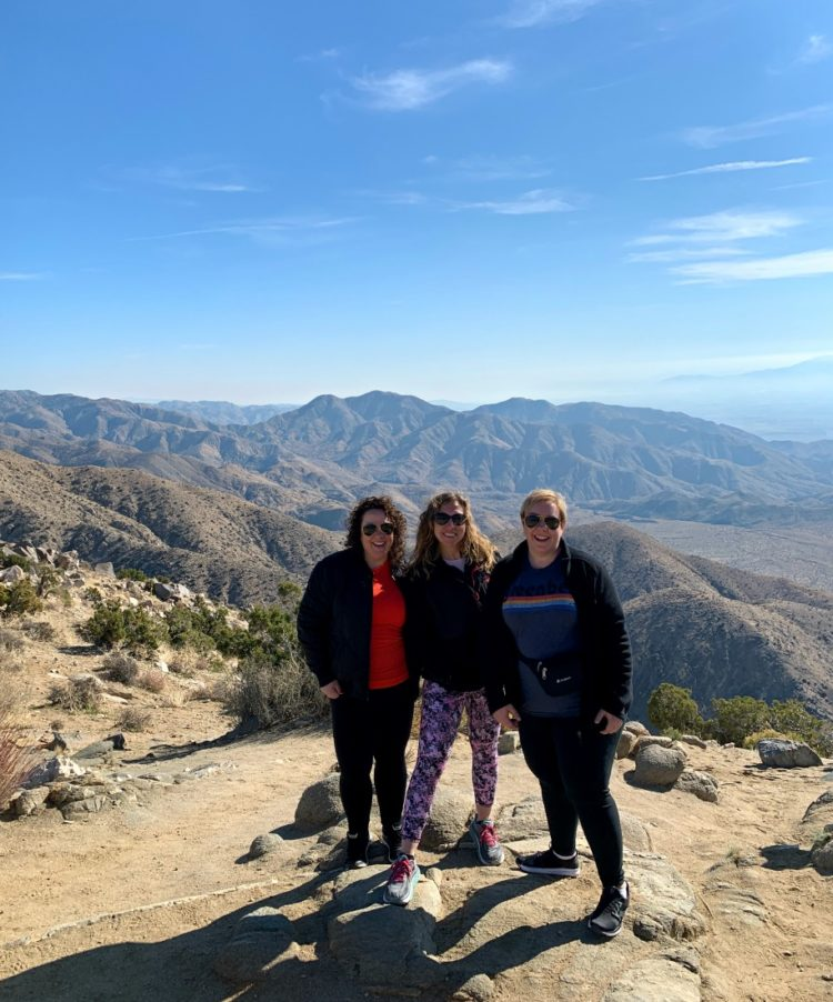 girls getaway to joshua tree