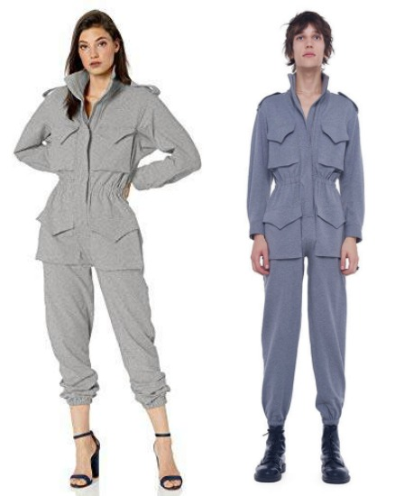 norma kamali turtle cargo jumpsuit review