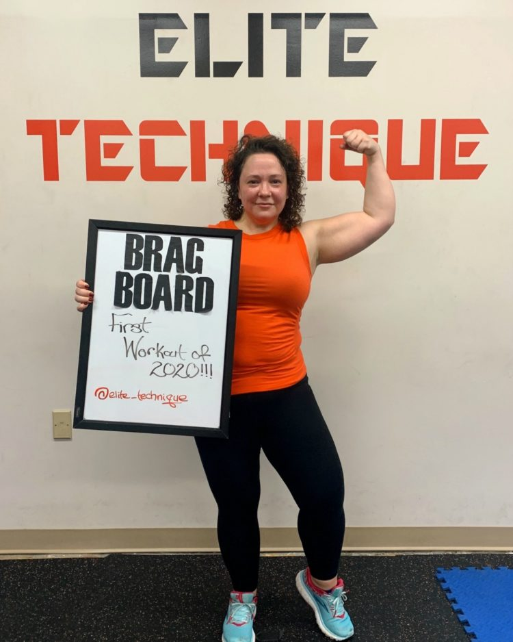 over 40 plus size fitness blogger