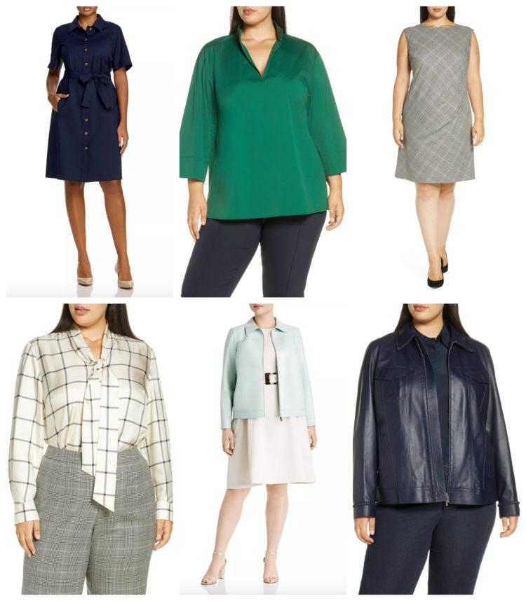 plus size suiting and work fashion