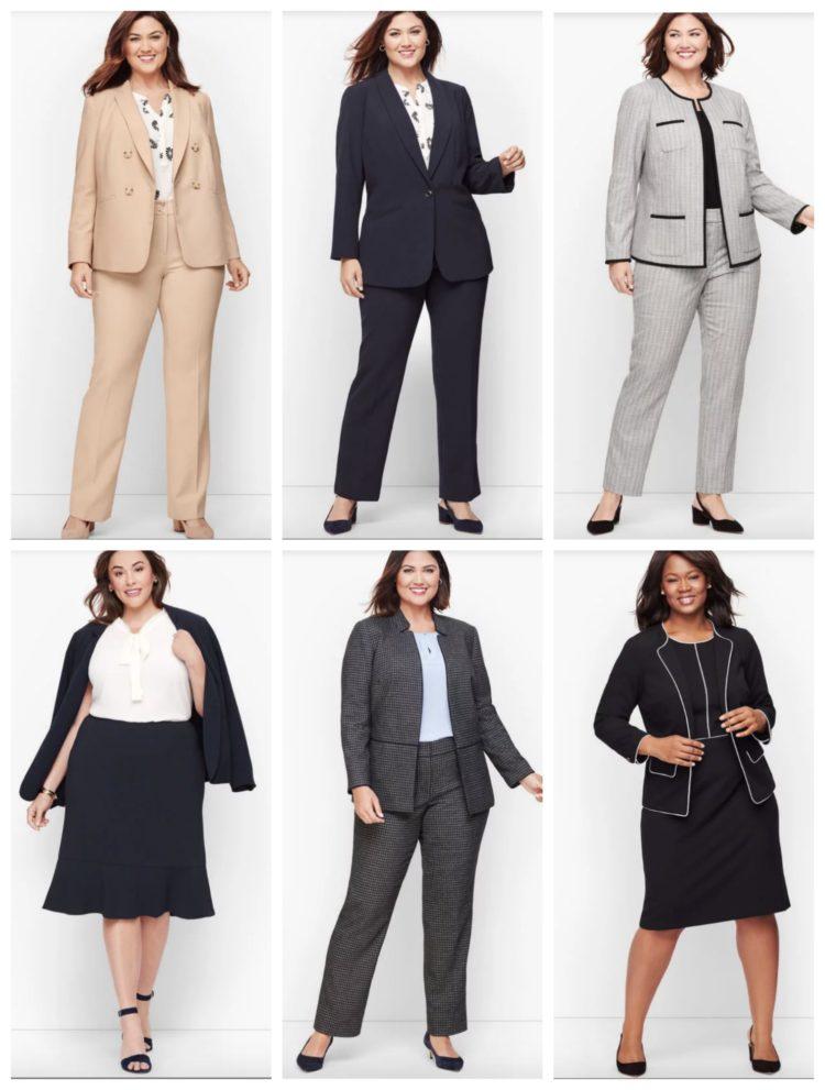 plus size workwear professional fashion
