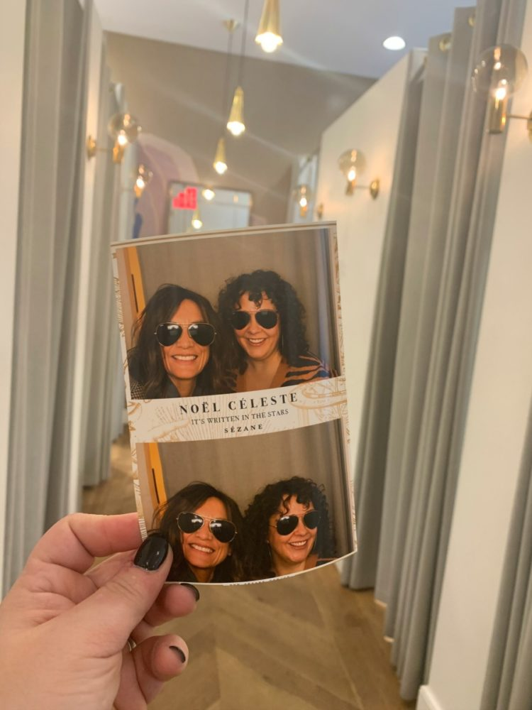 sezane nyc photo booth
