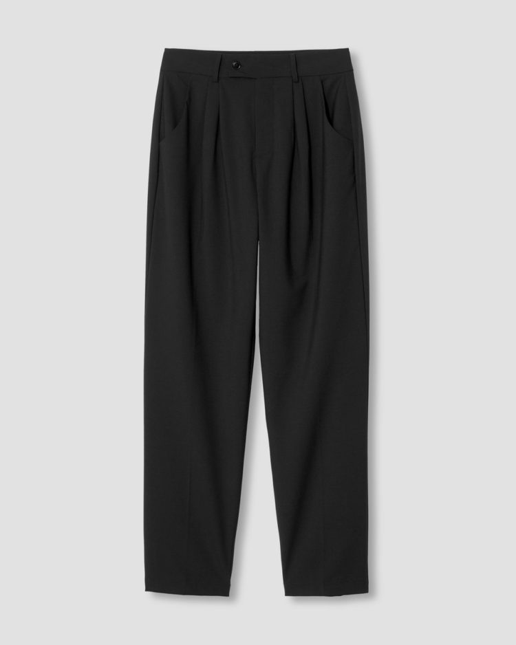 silvia slim cut wool trousers 29 inch black USPA0504 001 960x