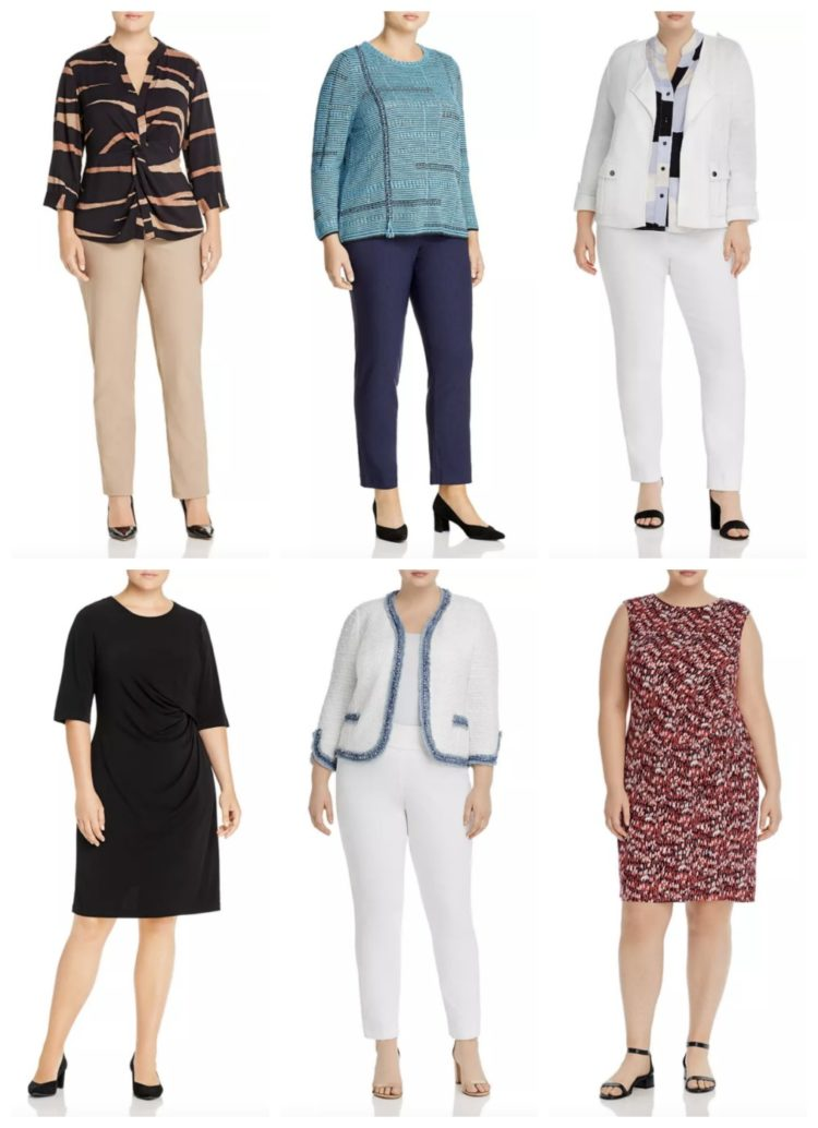 where to shop for plus sized workwear