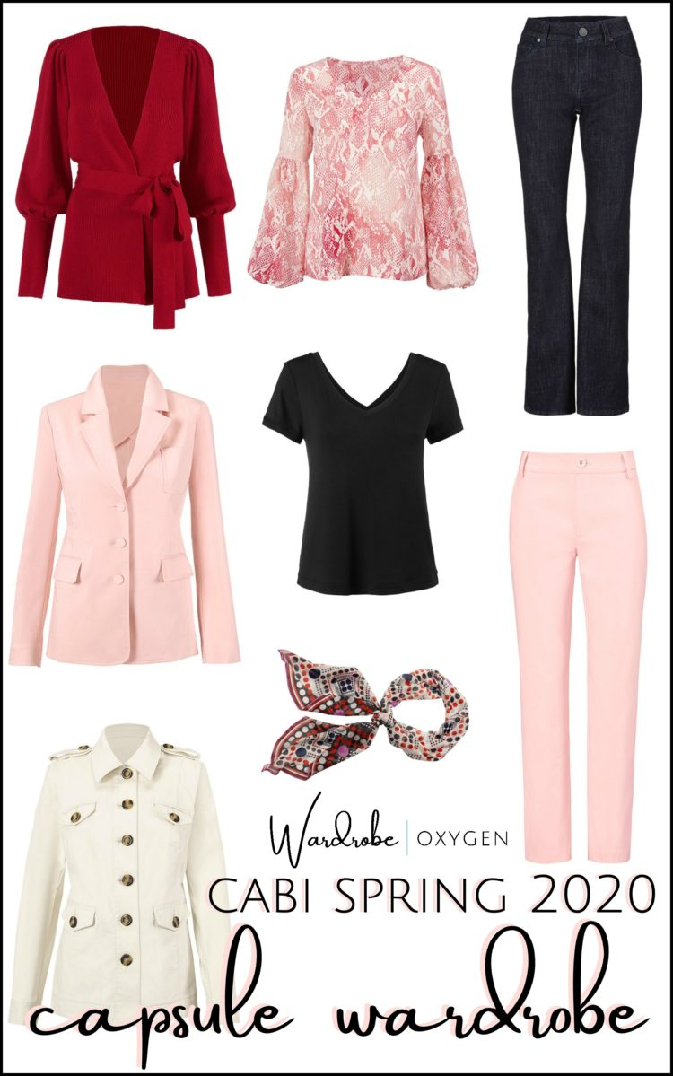 a cabi capsule wardrobe for spring 2020 by Alison Gary of Wardrobe Oxygen