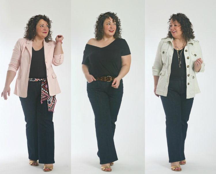 how to style the cabi trouser jean