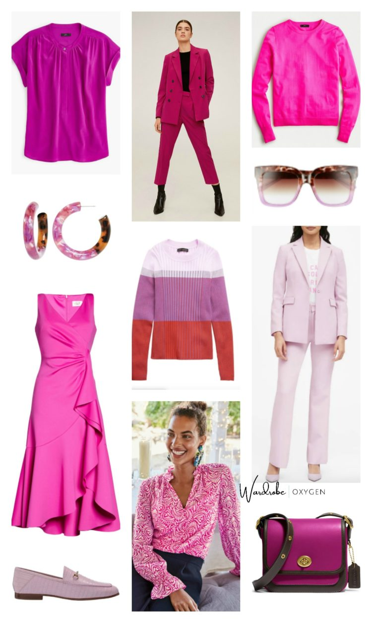 pink and purple spring 2020