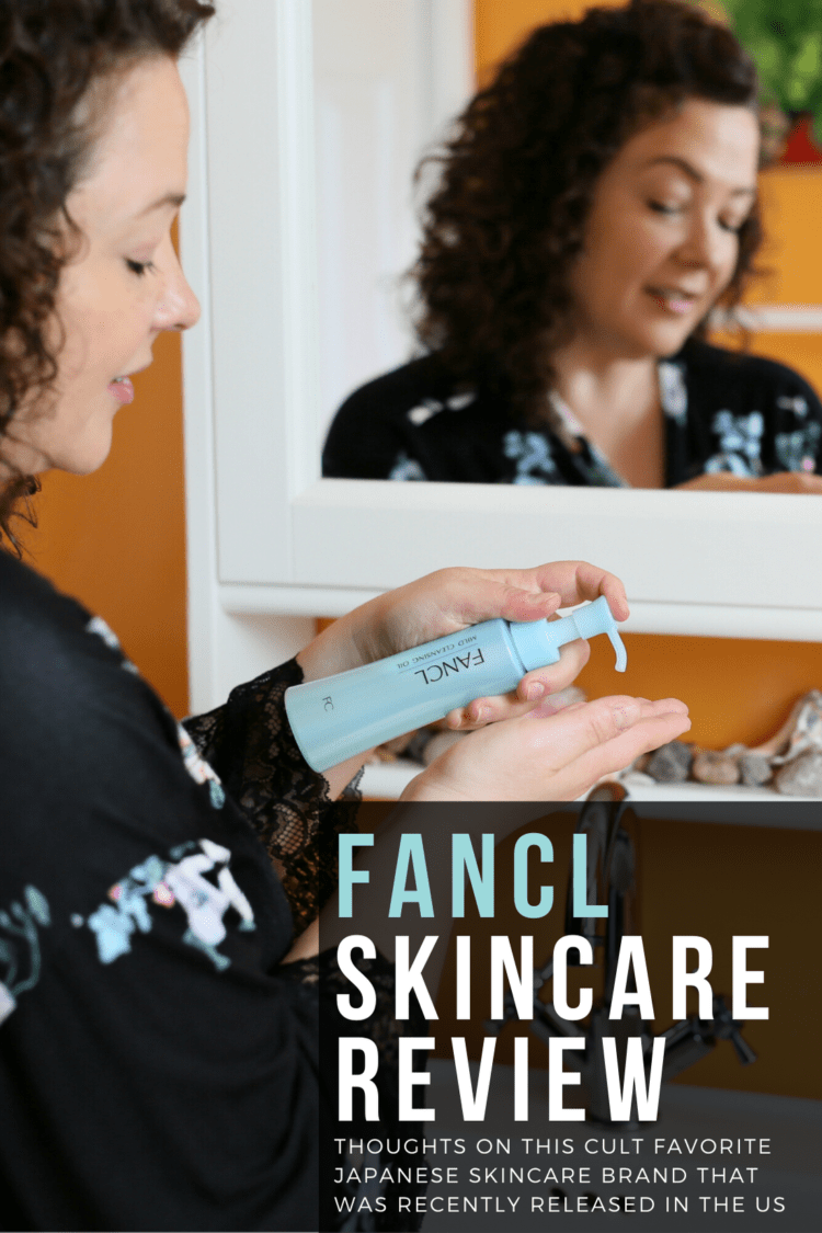 FANCL skincare review