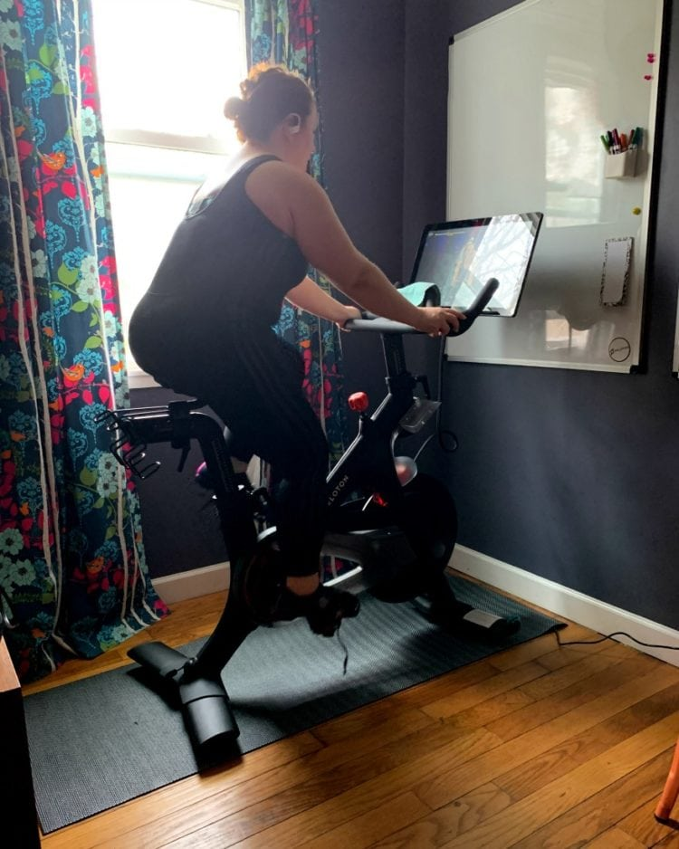 peloton review small space