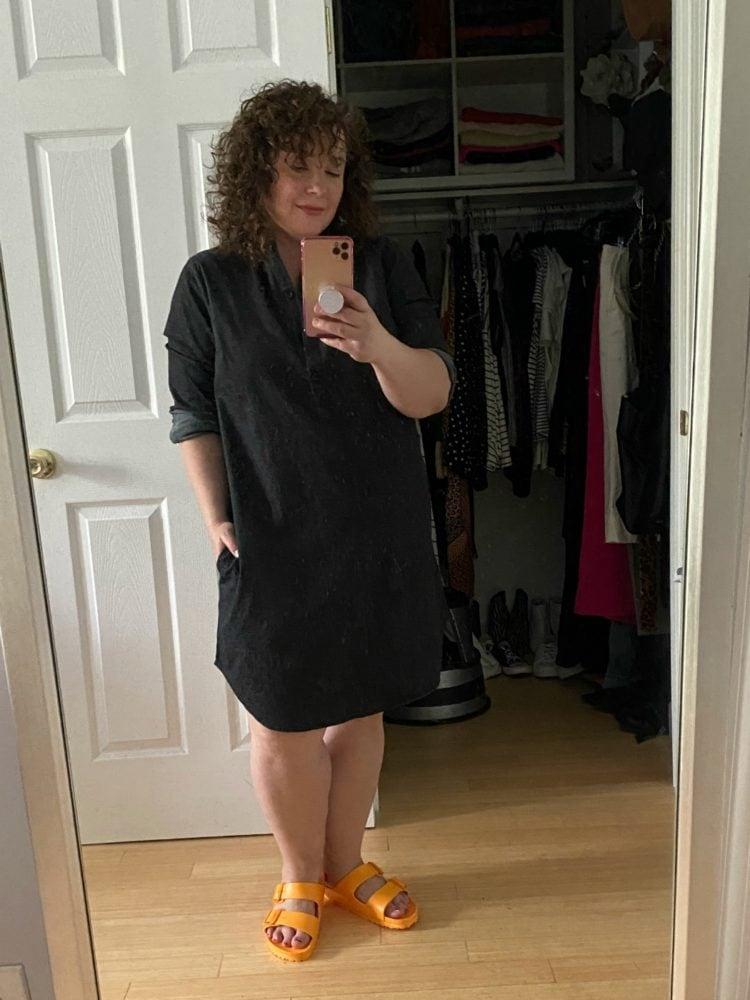 universal standard ddenim dress
