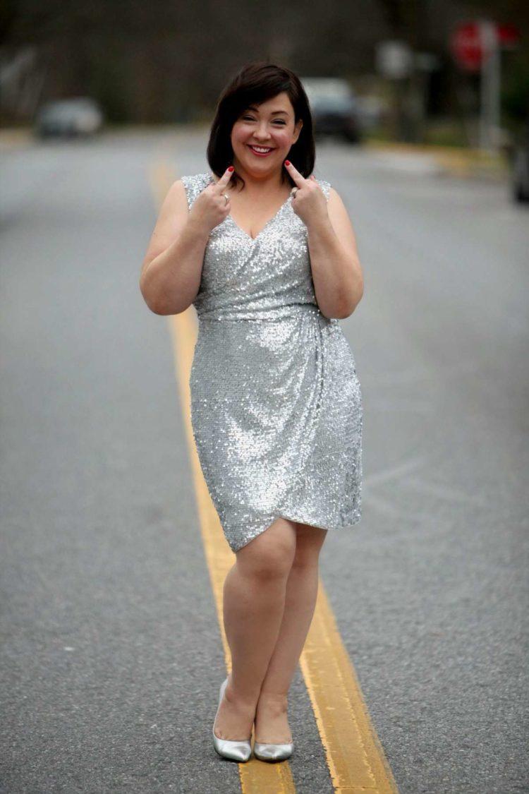 wardrobe oxygen sequin dress
