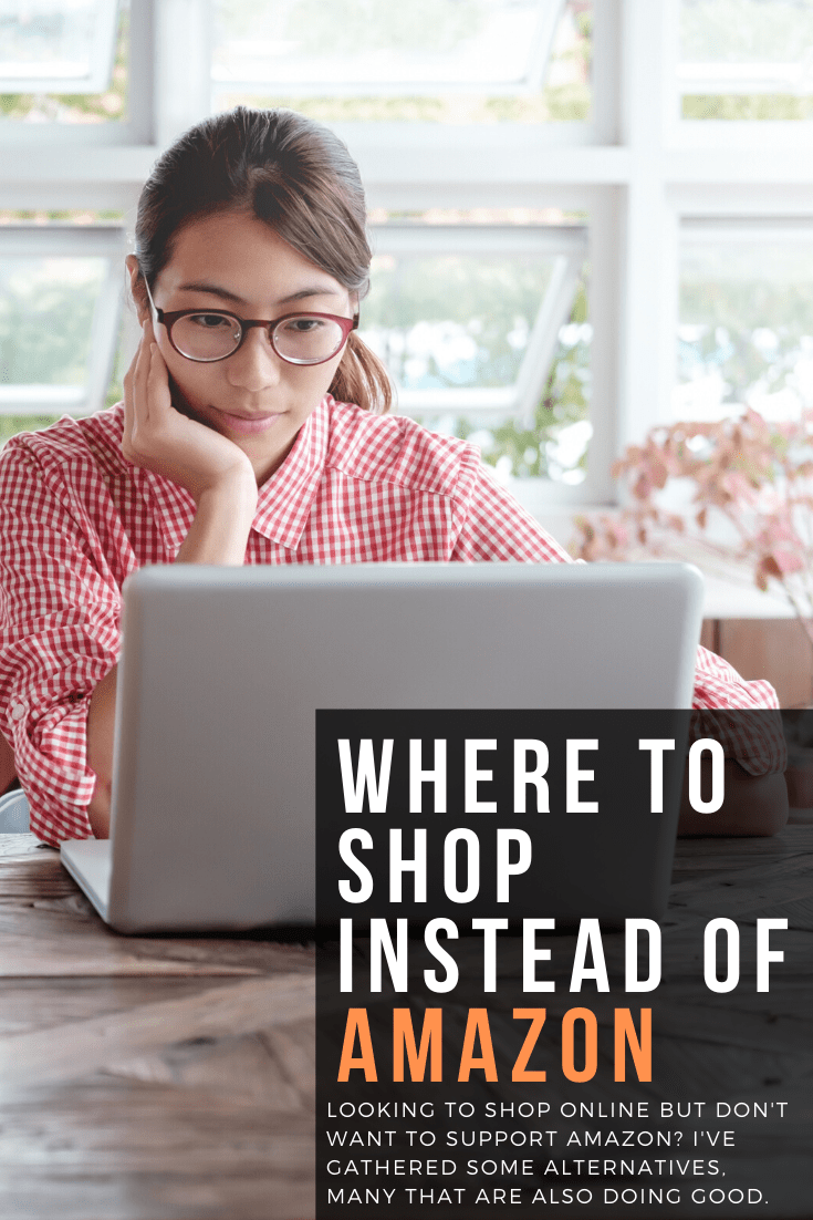where to shop in place of amazon