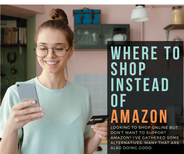 where to shop instead of amazon