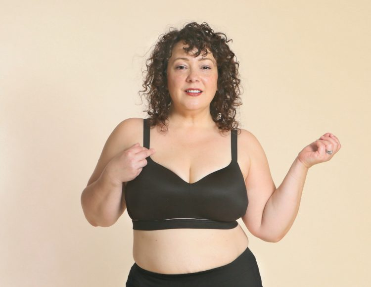 Cacique Lightly Lined Lounge Bra