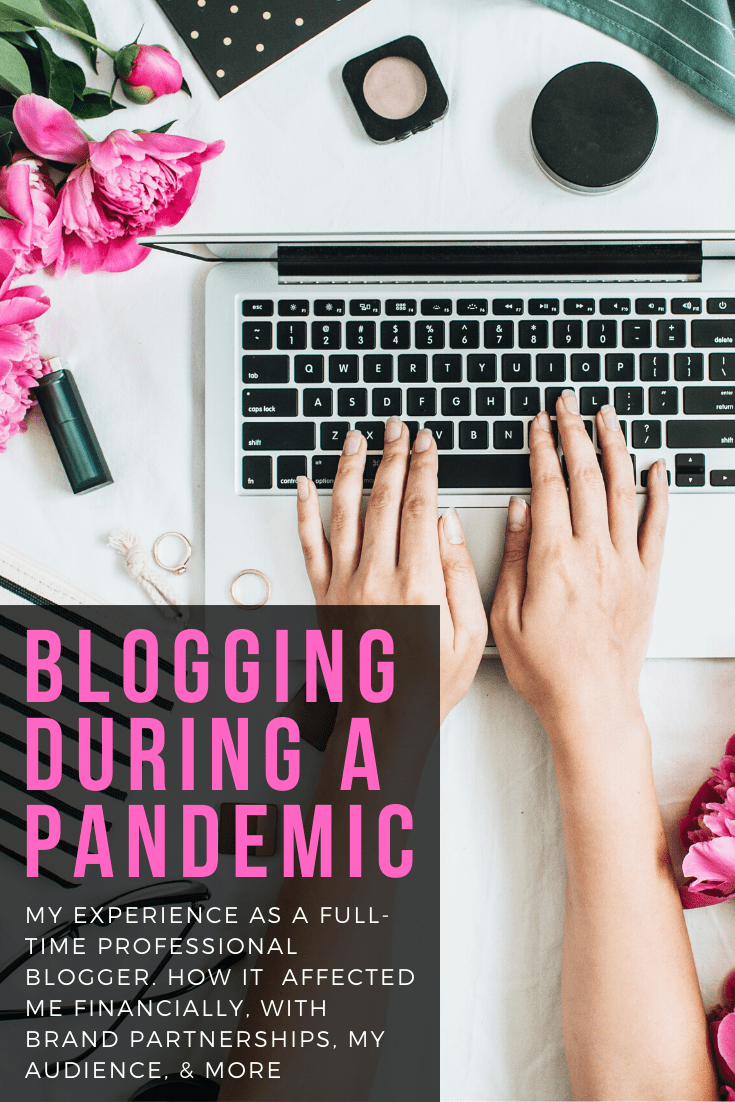 blogging during a pandemic