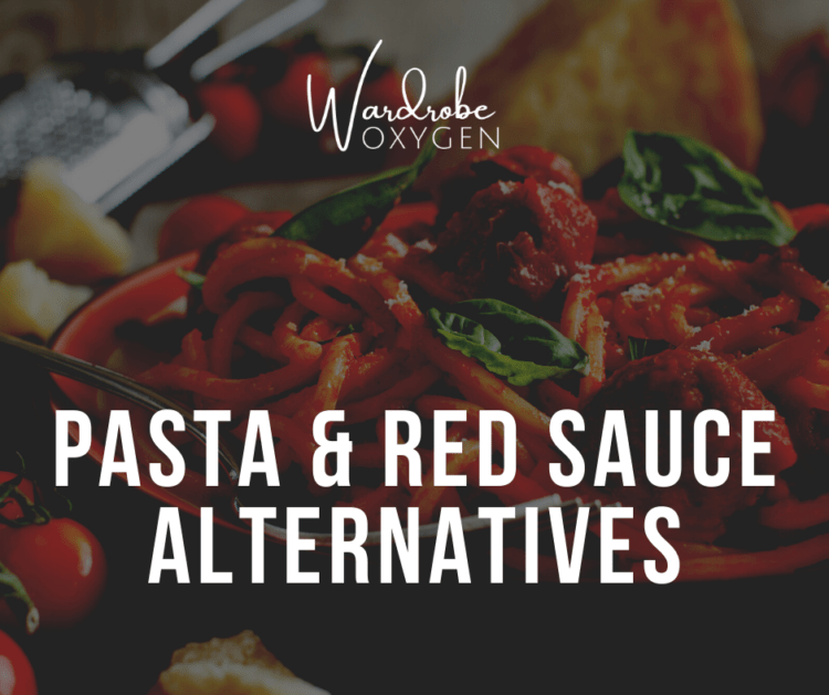 plant based alternatives to pasta and red sauce