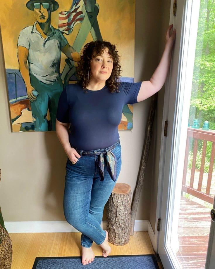 universal standard seine jeans