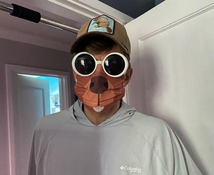 beaver face mask