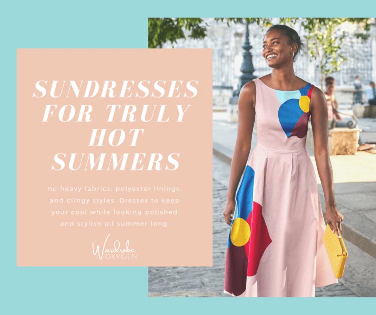 breathable sundresses for summer