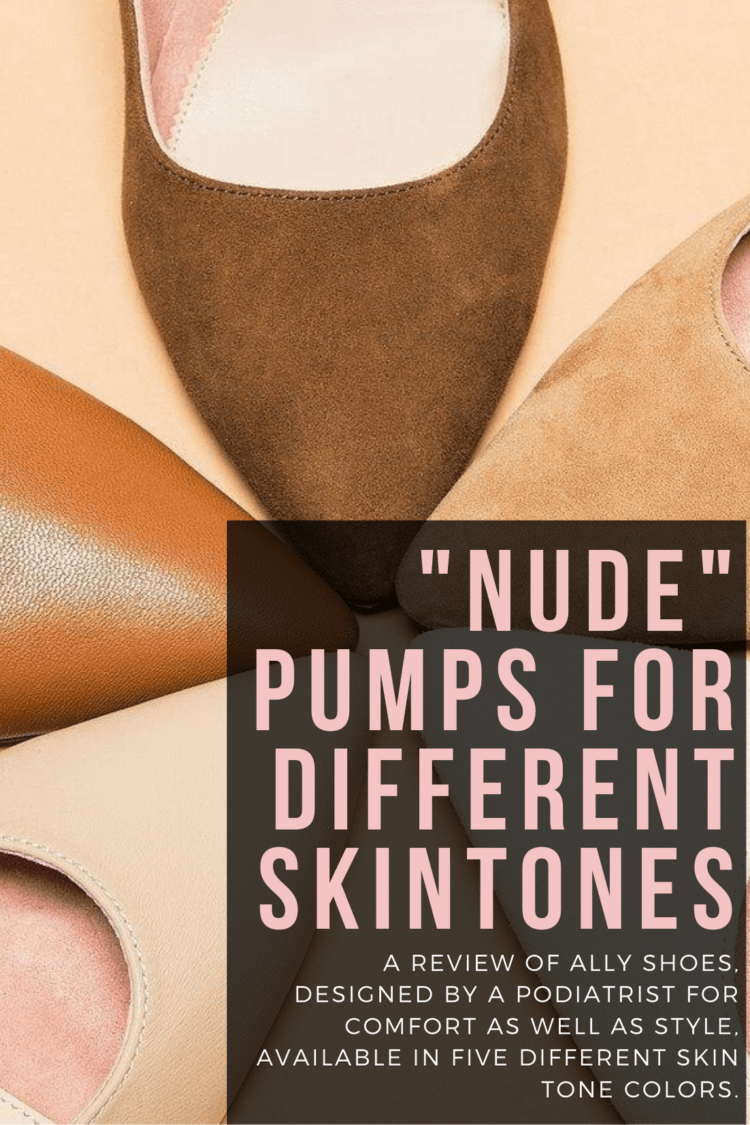 nude pumps for brown skin