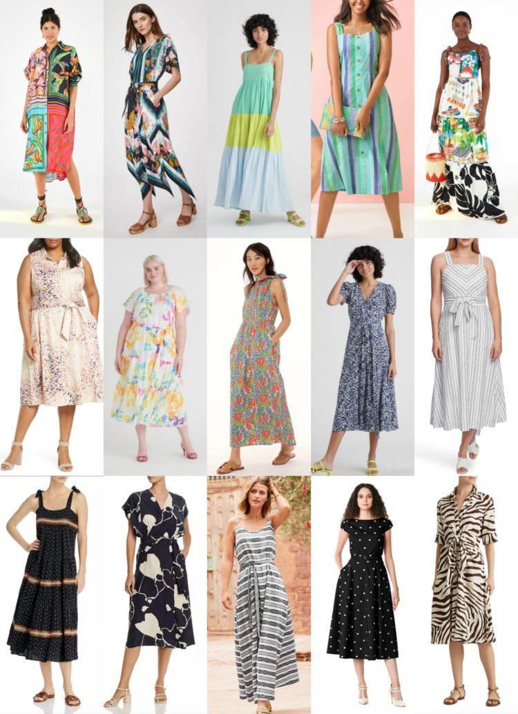 printed summer dresses