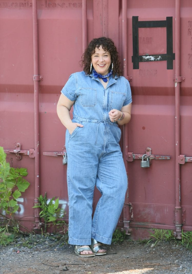 levis denim jumpsuit