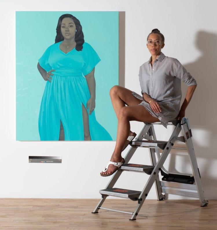 Amy Sherald Bronna Taylor Portrait