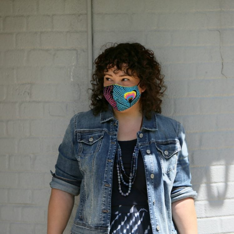 candace cort face mask