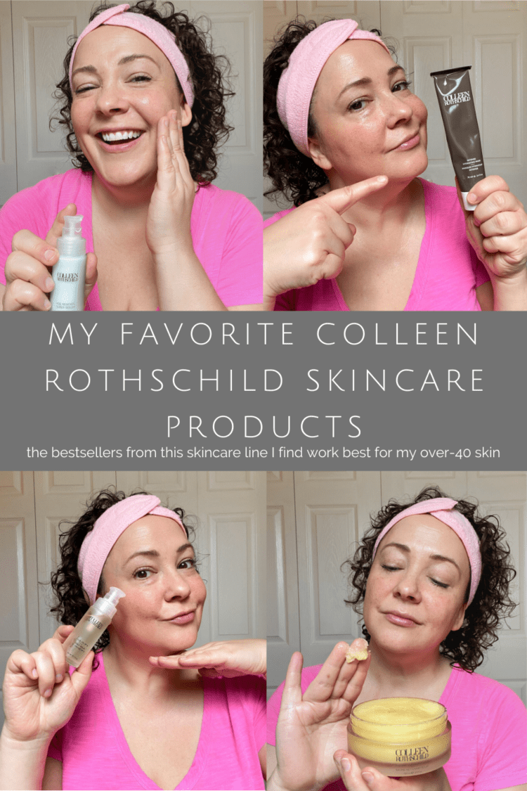 colleen rothschild skincare review bestsellers