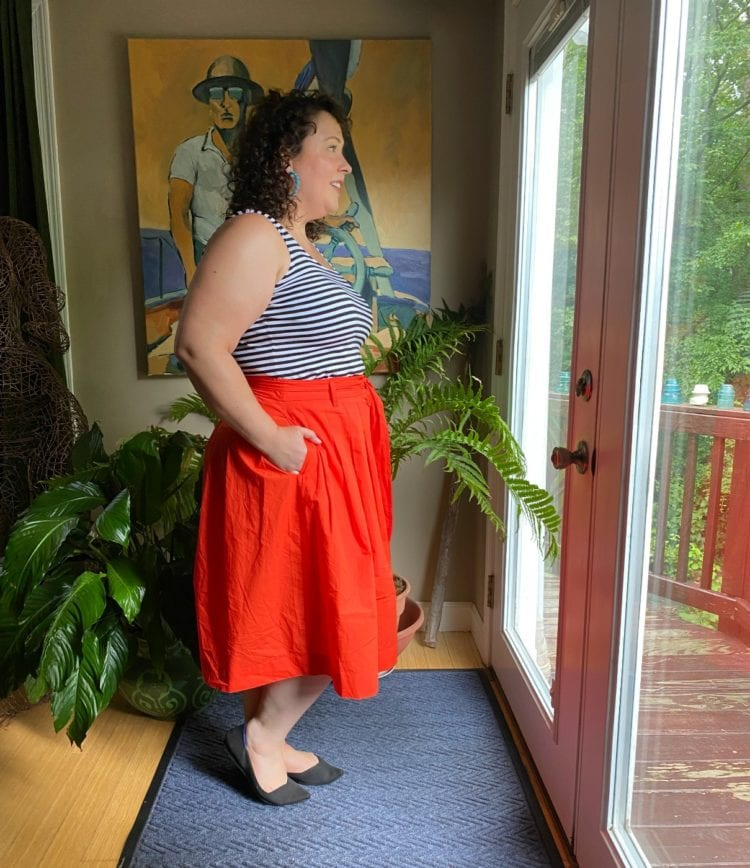 size 14 over 40 blogger
