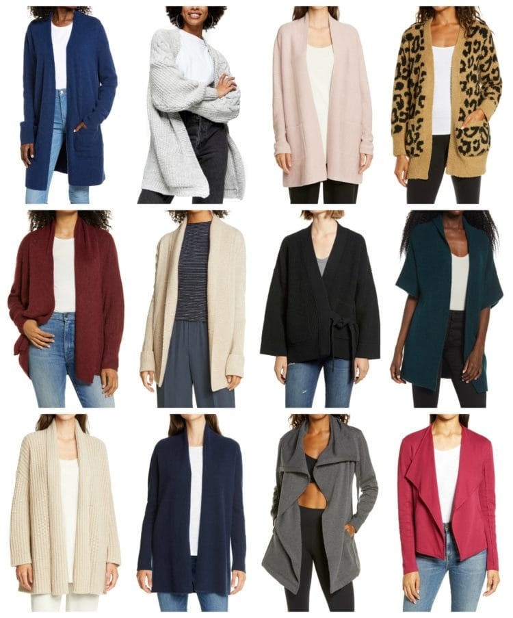 the best work from home cardigans