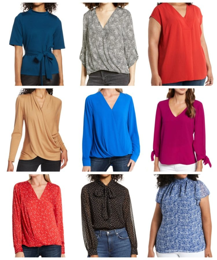 the best zoom blouses in the nordstrom anniversary sale