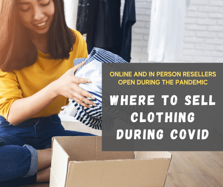 where to sell clothing during covid