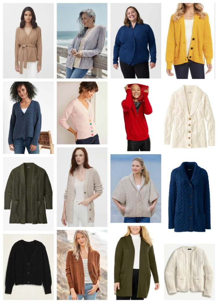 best cozy cardigans for working from home