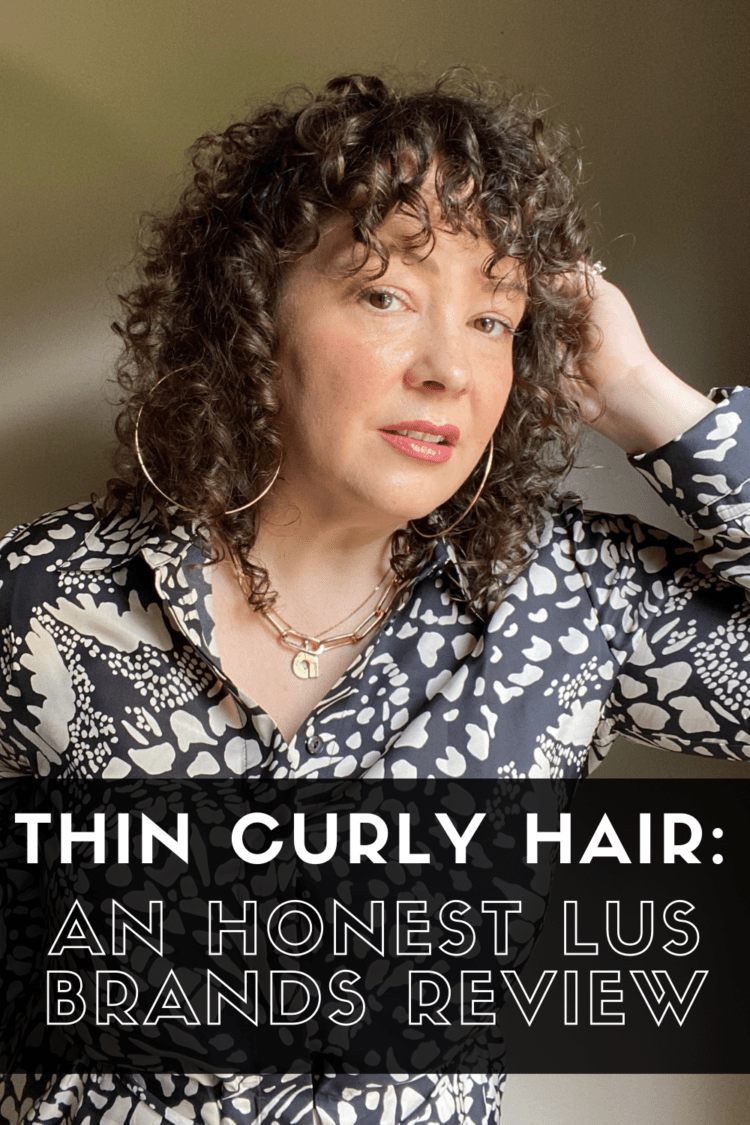 lus brands review for thin curly hair by wardrobe oxygen