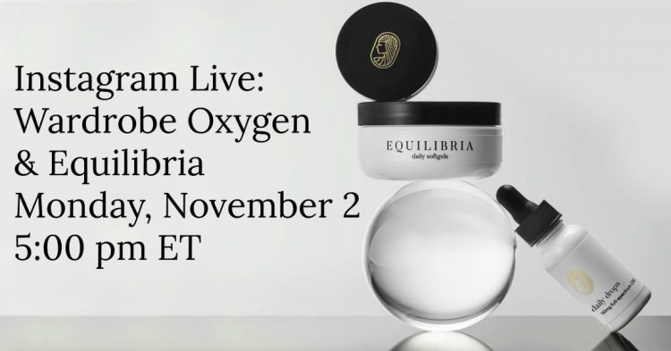 equilibria q and a wardrobe oxygen