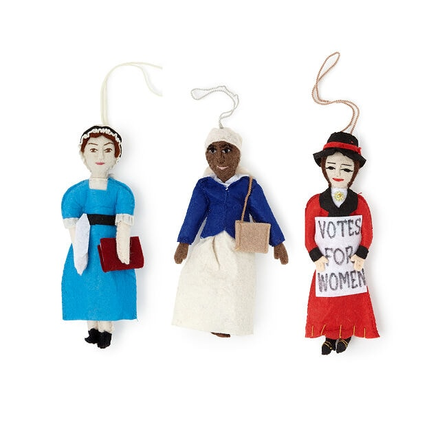 spectacular women ornament set