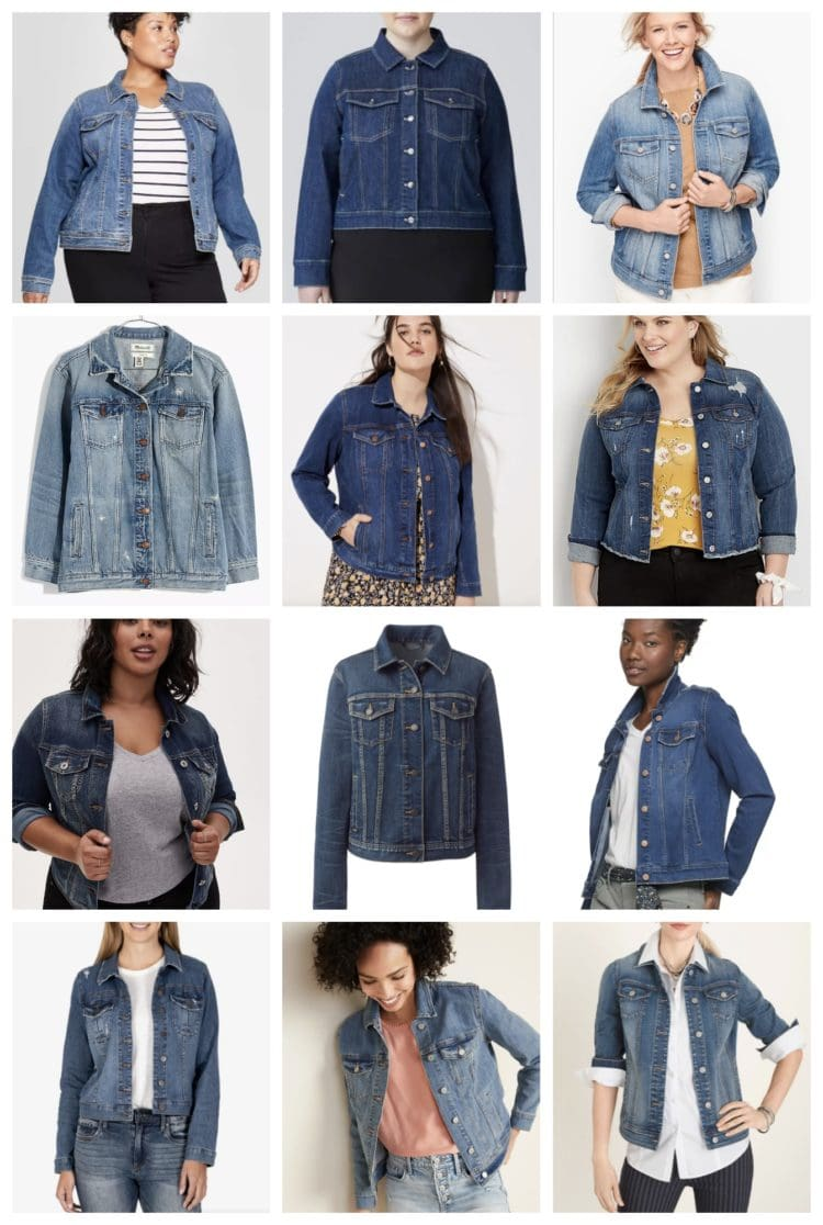 the best denim jackets in cup sizes XXL