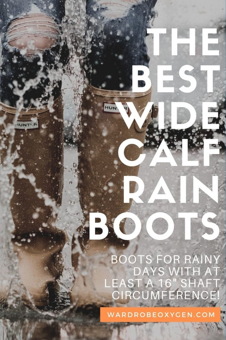 where to shop for wide calf rain boots
