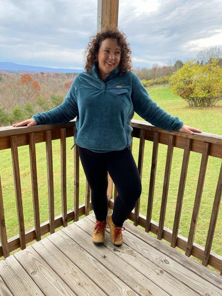 athleta fleece leggings review