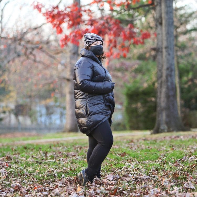 stylish outdoor fashion for winter