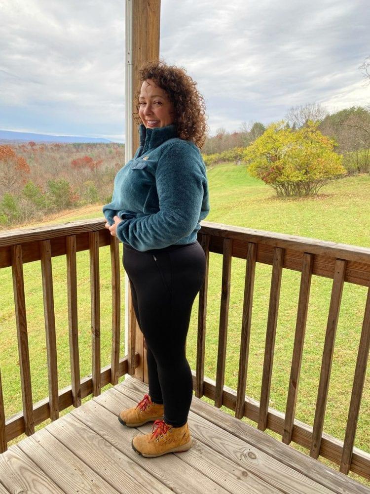 Talbots fleece leggings review