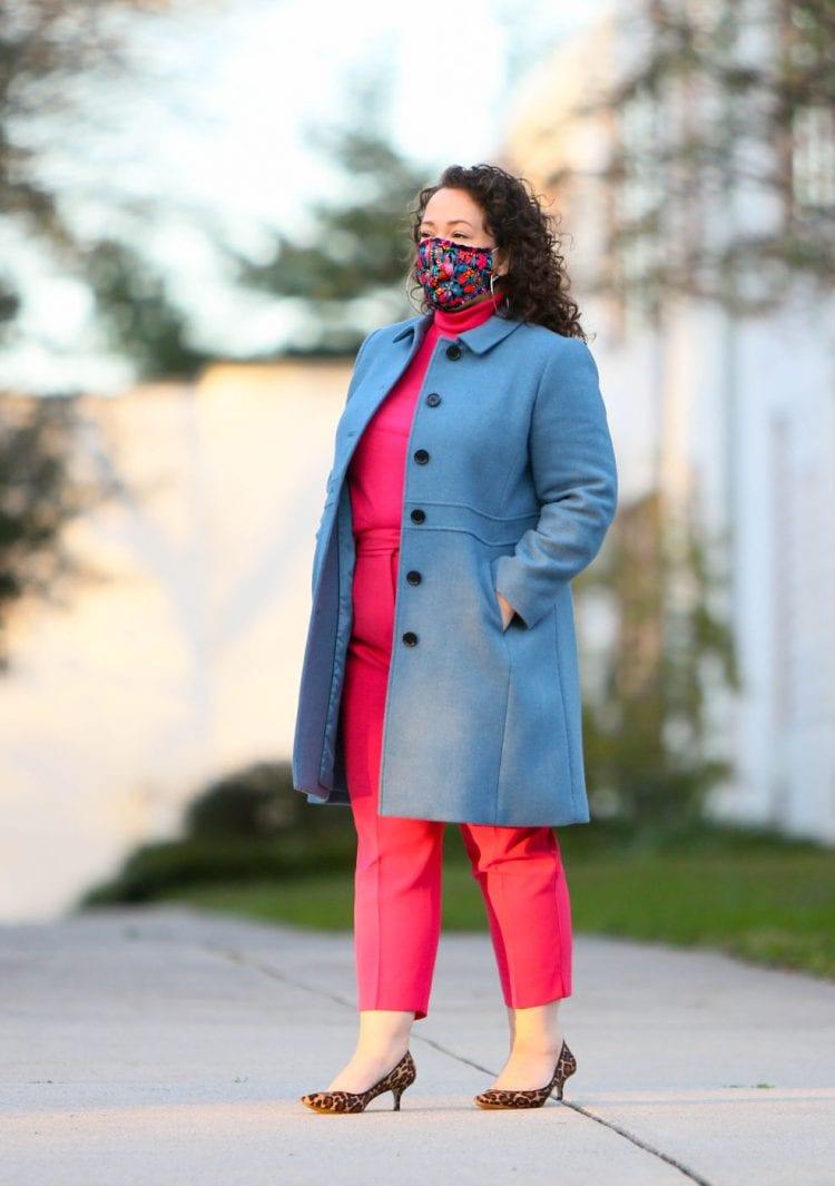 talbots wool lady coat