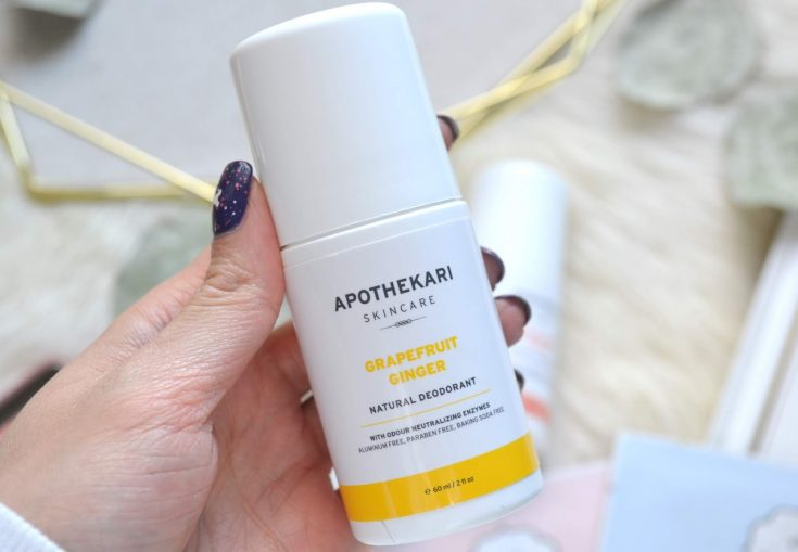 Apothekari Natural Deodorant Review 5